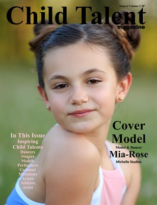 Child Talent magazine Issue 6 Volume 2 20'