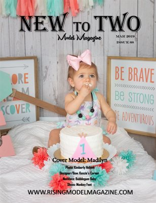 New To Two Model Magazine Issue #88