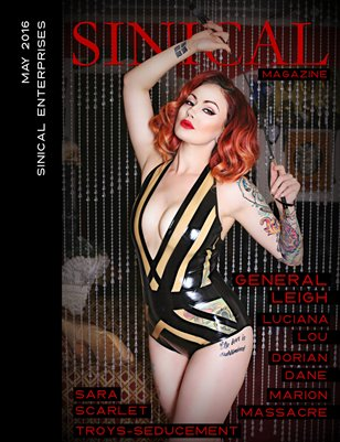 Sinical May 2016 - General Leigh cover edition