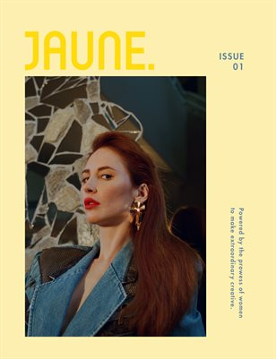Jaune Magazine Issue 01 \ Cover 10