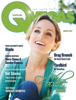 QVegas March 2015 | The Foodie Issue