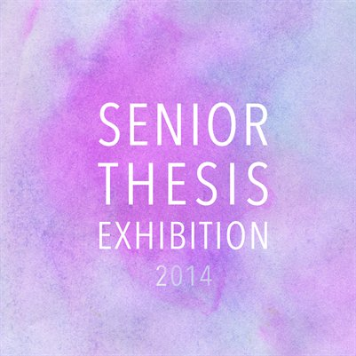 Senior Thesis 2014 Catalogue
