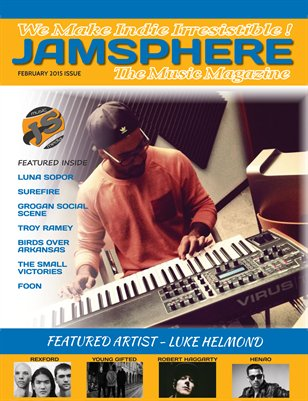 Jamsphere Indie Music Magazine February 2015