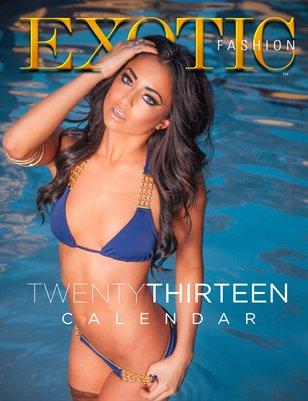 EXOTIC Fashion Swimsuit Calendar 2013
