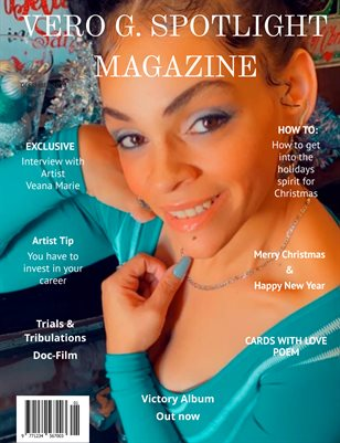 Vero G. Spotlight Magazine December Issue 2020