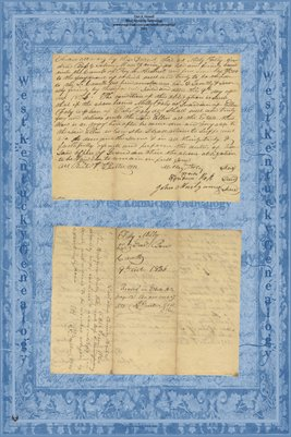 1826 Kentucky Bond, Andrew Ross & Milly Foley guardian of Ellen Foley