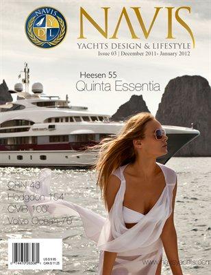 NAVIS Luxury Yacht Magazine #3