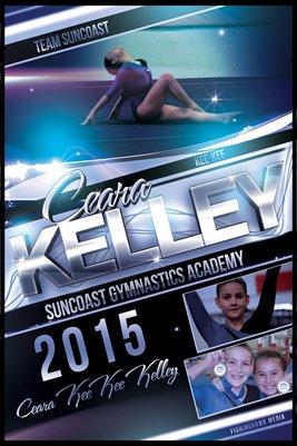 Ceara Kelley Gymnast - Poster