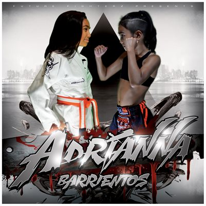 Adrianna Barrientos Face Off Comp Card/Mini Poster 8x8