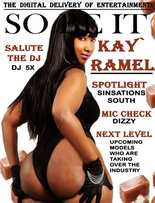 SO BE IT MAGAZINE Issue 9 (KAY` RAMEL)