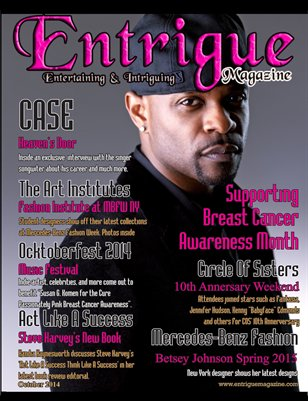 Entrigue Magazine October 2014 (Special Double Cover/Flip Issue)