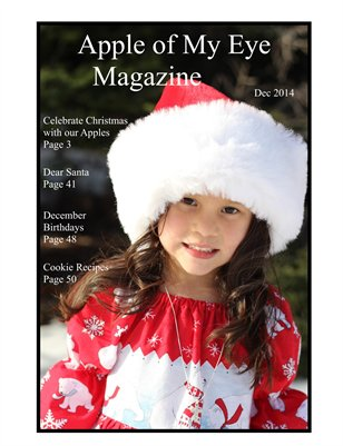 Apple of My Eye Magazine Issue 6: December 2014