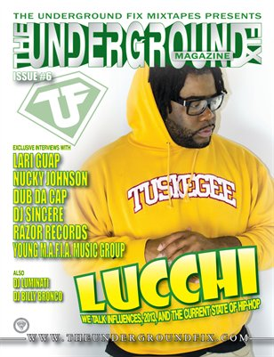 The Underground Fix Magazine Issue #6