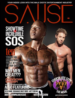 SAUSE MAGAZINE ISSUE #1 Vol 1