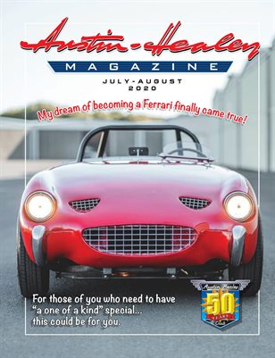 Austin-Healey Magazine July-Aug 2020