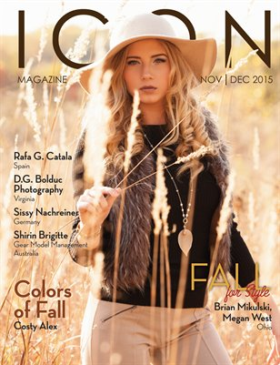 ICON MAG Nov/Dec Fall 2015