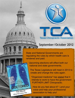 Texas Journal of Chiropractic, Sep/Oct 2012