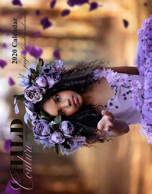 Child Couture magazine Official 2020 calendar