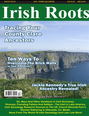 Irish Roots Magazine - Issue No 87