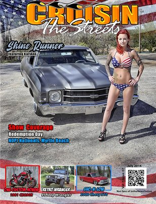 July 2016 Issue Cruisin' the Streets