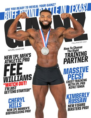 Natural Gainz Magazine Issue #39 - FALL/WINTER 2021 - Cover: Fee Williams