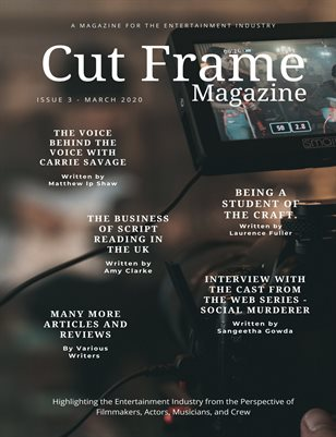 Cut Frame Magazine - March 2020