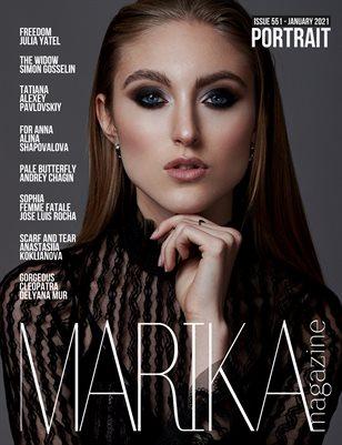 MARIKA MAGAZINE PORTRAIT (ISSUE 551 - January)