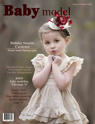 Baby Model magazine Issue 11 Volume 4 2018