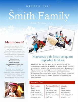 Templates holiday newsletter template for ms word magcloud publication preview saigontimesfo