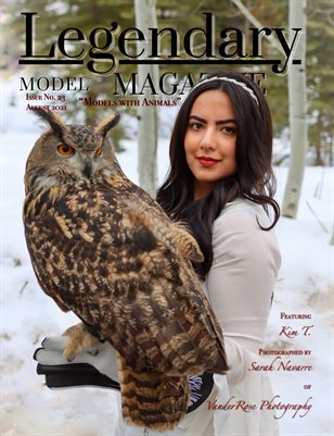 Issue No. 23 - Model with Animals - Legendary Model Magazine