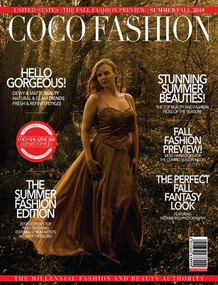 COCO Fashion Magazine - The Fall Fashion Preview - Vol. 3