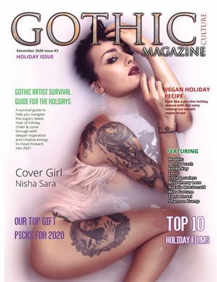 Gothic Culture Magazine December 2020 Issue #3