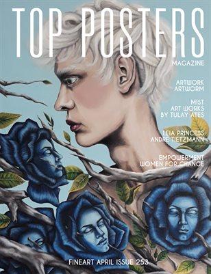 TOP POSTERS MAGAZINE - APRIL, FINEART (Vol 253)