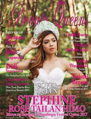 World Class Beauty Queens Magazine with Stephine Rose Tailan Himo
