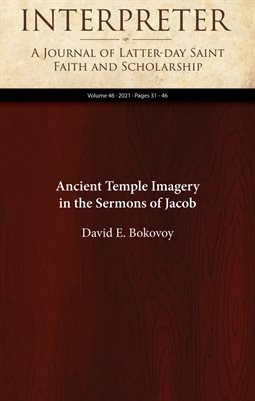 Ancient Temple Imagery in the Sermons of Jacob