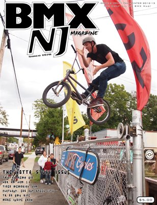BMXNJ Magazine Issue 9 Late Fall-Early Winter 2012-2013