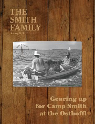 Smith Family Newsletter Spring 2015