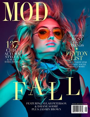 MOD Magazine: Fall 2017 Issue (Cover #1 of 3)