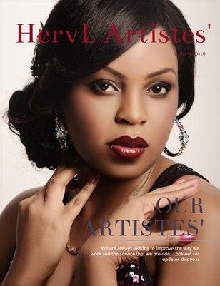 HervL Artistes' Magazine - Spring 2016