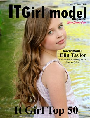 It Girl Model magazine Issue 5 Volume 7 2020