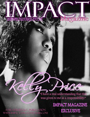January Issue w/Kelly Price