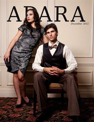 ADARA MAGAZINE DECEMBER 2012