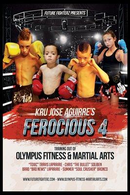 Ferocious 4 Poster