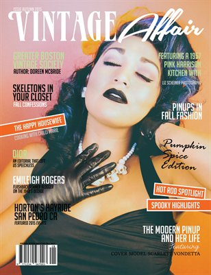 Vintage Affair Magazine | Autumn 2015