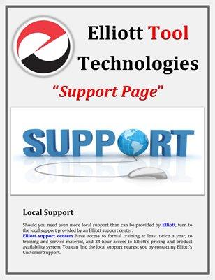 Elliott Tool Support Page