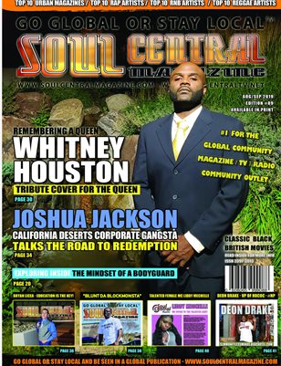 Soul Central Magazine Edition #89 - JOSHUA JACKSON #CEO