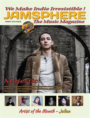 Jamsphere Indie Music Magazine March 2016