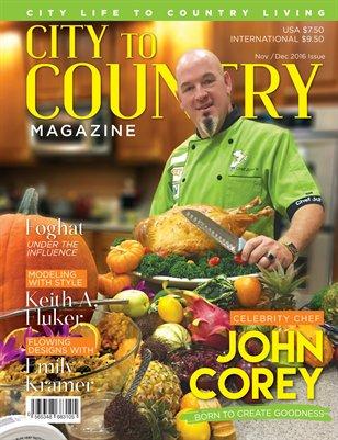 City To Country Magazine Nov/Dec 2016