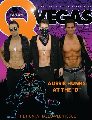 QVegas | The Hunky Halloween Issue