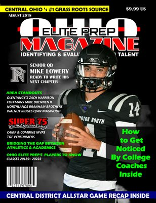 OHIO ELITE PREP 2018 prep football edition